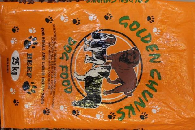 Dog Food Golden Chunks 25Kg
