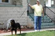 Rottweiler dog show taking place at Chautauqua USA